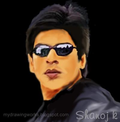 Shahrukh Khan by shanoj7